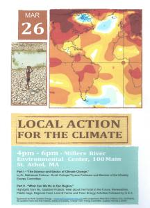 Poster Local Action for the Climate