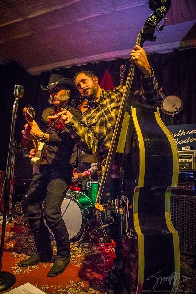 Dangerous Pete (L), Theo Aronson (R), Flathead Rodeo - Copy.jpg